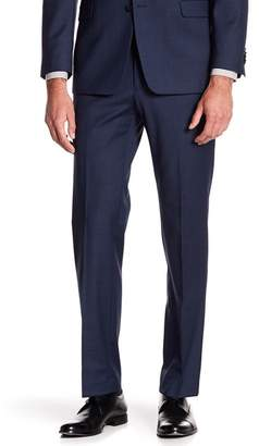 "Tommy Hilfiger Tyler Modern Fit TH Flex Performance Sharkskin Suit Separates Pant - 30-34"" Inseam"