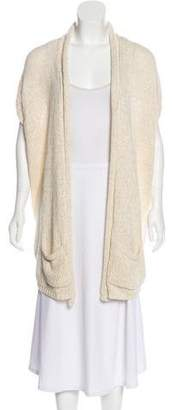 Calypso Knit Open Front Cardigan