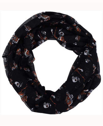 Forever Collectibles Cincinnati Bengals All Over Logo Infinity Wrap Scarf