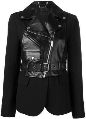 Sonia Rykiel short hybrid jacket
