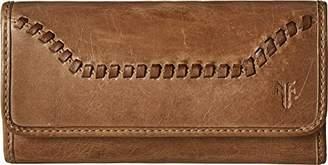 Frye Women's Melissa Continental Whipstitch Snap Wallet