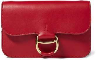 Ralph Lauren Leather Maddie Crossbody Bag
