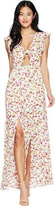 Jack Women's Brylee Floral Printed Maxi Dress
