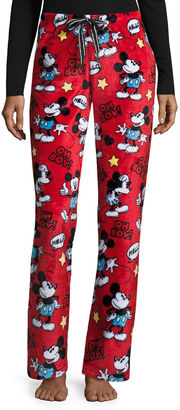 DISNEY Disney Mickey Mouse Fleece Pajama Pants-Juniors $17.99 thestylecure.com