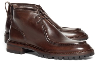 Brooks Brothers Leather Chukka Boots