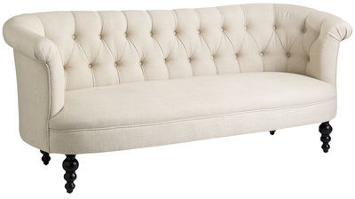 Pier 1 Imports Colette Flax Beige Sofa