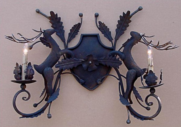 Deer Sconce-Available in a Variety of Finishes