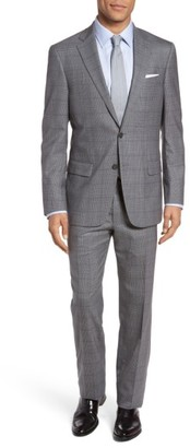 Men's Hart Schaffner Marx Classic Fit Plaid Wool Suit $695 thestylecure.com