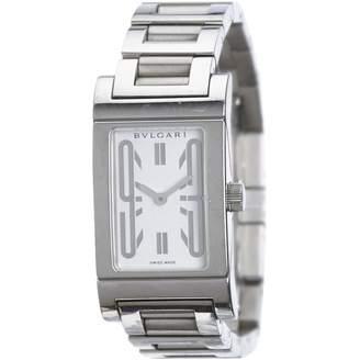 Bulgari Silver Steel Watches