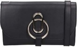Stée Stee Ivy Black Leather Pochette