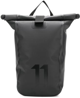 11 By Boris Bidjan Saberi roll top backpack