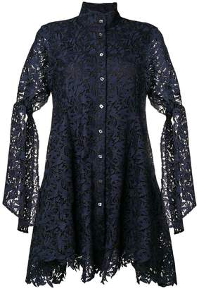 Osman Lace Leaf dress