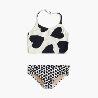 Girls' tankini set in mixed hearts $52.50 thestylecure.com