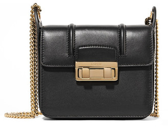 Lanvin - Jiji Mini Leather Shoulder Bag - Black $1,790 thestylecure.com