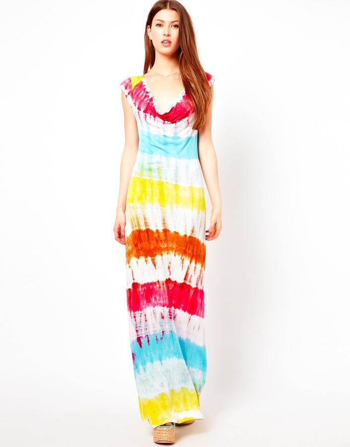 Ruby Rocks Dip Dye Maxi Dress - Multi