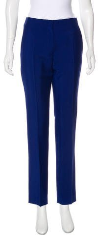 Christian Dior Mohair Mid-Rise Pants w/ Tags
