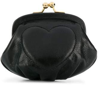Moschino Cheap & Chic heart clutch