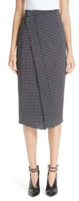 Jason Wu Wool Check Skirt