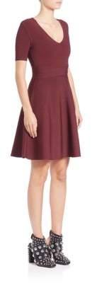 Alexander Wang Rib-Knit Fit-&-Flare Dress