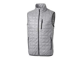 Cutter & Buck Men's Weather Resistant Primaloft Down Alternative Rainier Vest
