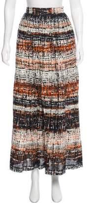 Milly Linen Maxi Skirt