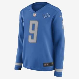 Nike NFL Detroit Lions Jersey (Matthew Stafford) Women's Long-Sleeve Football Jersey