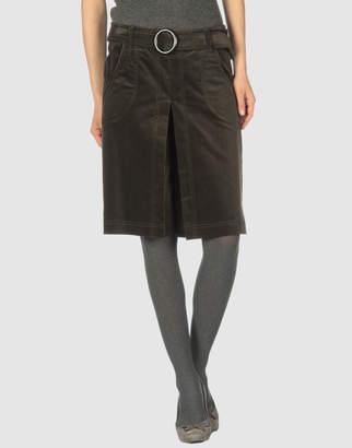 Space Knee length skirts