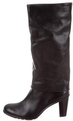 Paul Green Leather Mid-Calf Boots
