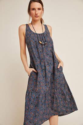 Frye Kalamkari Woodblock-Printed Dress