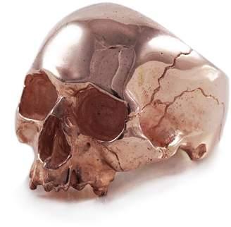 Frederick Grove - Rose Gold Skull Ring