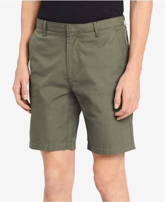 """Calvin Klein Men's Microplaid 9"""" Shorts"""