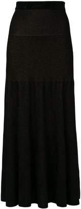 Sonia Rykiel flared knit skirt