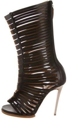 No.21 No. 21 Leather Caged Sandals