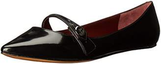 Marc Jacobs Women's Karlie Pointy Button Pointed Toe Flat