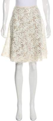Loyd/Ford Sequin A-Line Skirt