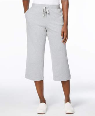 Karen Scott Petite Drawstring Capri Pants, Created for Macy's