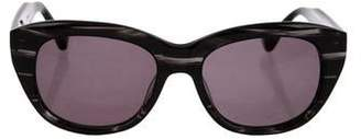Dita Marbled Tinted Sunglasses
