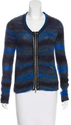 Yigal Azrouel Cut25 by Wool Scoop Neck Sweater