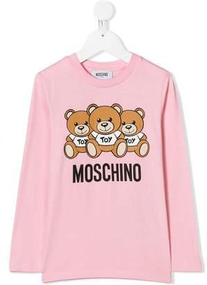 Moschino Kids Toy Bear T-shirt