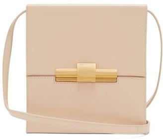 Bottega Veneta Daisy Leather Cross Body Bag - Womens - Beige