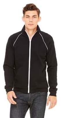Bella + Canvas Men's Piped Fleece Jacket