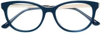 Jimmy Choo Eyewear rectangle frame glasses