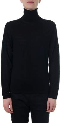 Acne Studios Turtle Neck Black Wool Sweater