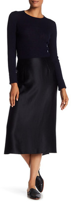 VINCE. Silk Slip Skirt $275 thestylecure.com