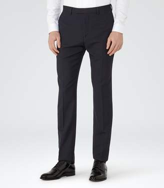Reiss Carter Slim Jacquard Weave Trousers