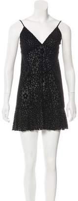 Anna Sui Velvet Sleeveless Tunic