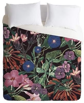 Deny Designs CayenaBlanca Floral Symphony King Duvet Cover - Multi