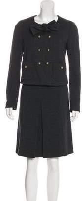 Paule Ka Wool Skirt Suit