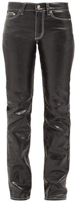 Eytys Cypress Coated Jeans - Womens - Black