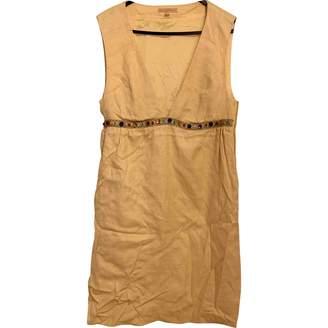 Melissa Odabash Yellow Silk Dress for Women